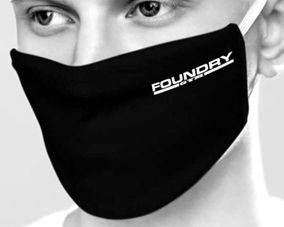 Foundry gym branded face mask